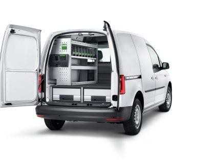 Regály Volkswagen Caddy L1 Green