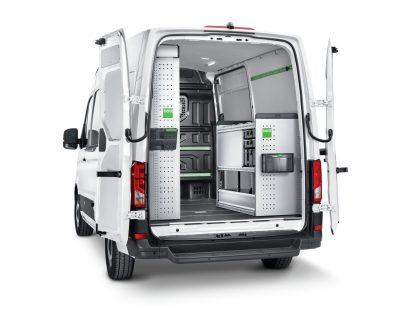 Regály Volkswagen Crafter L3H2 Green