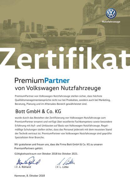 bott Volkswagen PremiumPartner